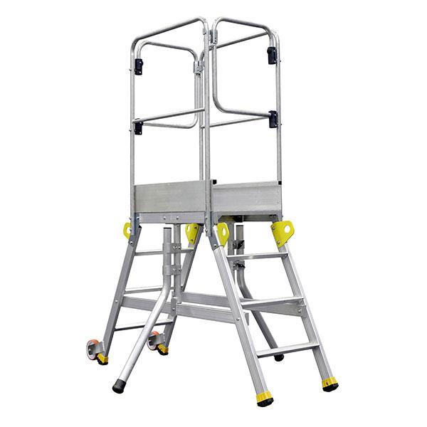 piattaforma casseforme 6 gradini stabilizzatori