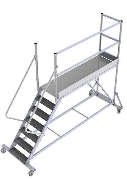 piattaforma con ruote ptfdrs