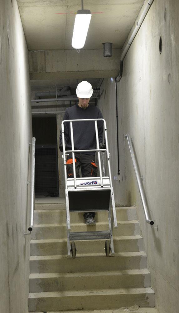 plateforme cabri escalier
