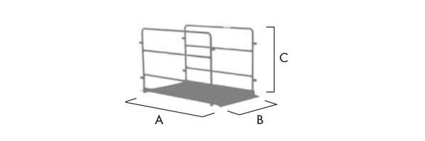 schema piattaforma passerella