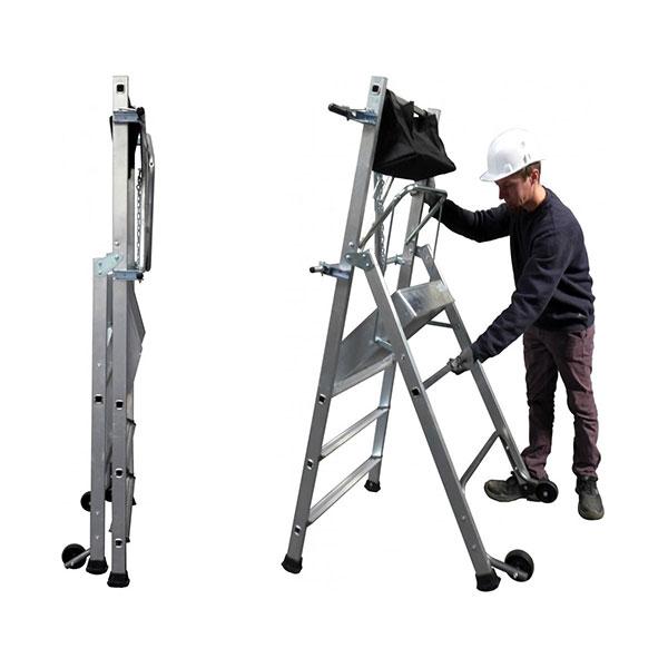 installation escabeau pirl T REX 18 162