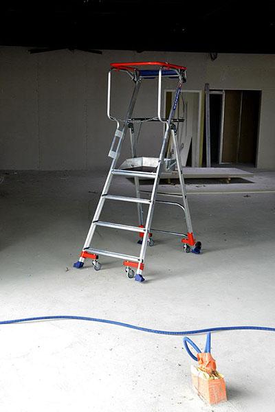 PIRL Roulante Wheelys sur chantier