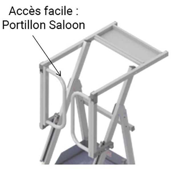 plateforme portillon saloon