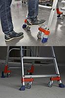 PIRL Wheelys en appui sur les patins