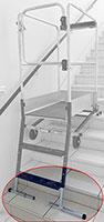 Kit escalier petite hauteur pour gazelle