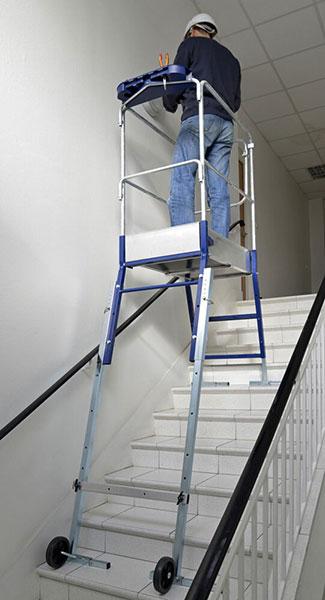 utilisation gazelle 40041 escalier