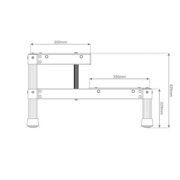 dimensions marchepied MP2