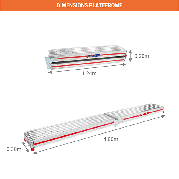 dimensions plateforme 6859
