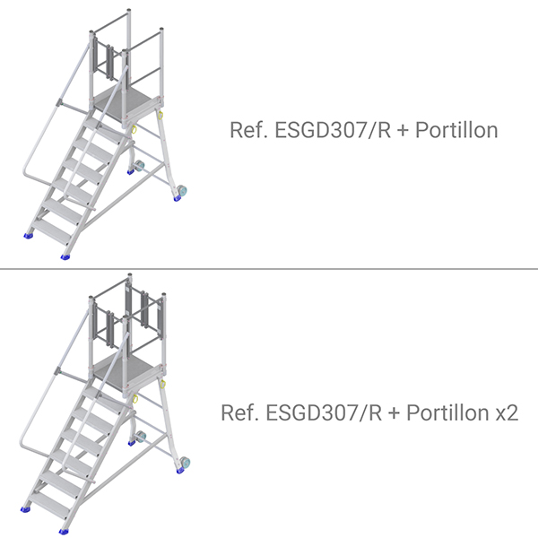 plateforme ESGD307R portillon