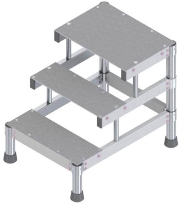 plateforme aluminium