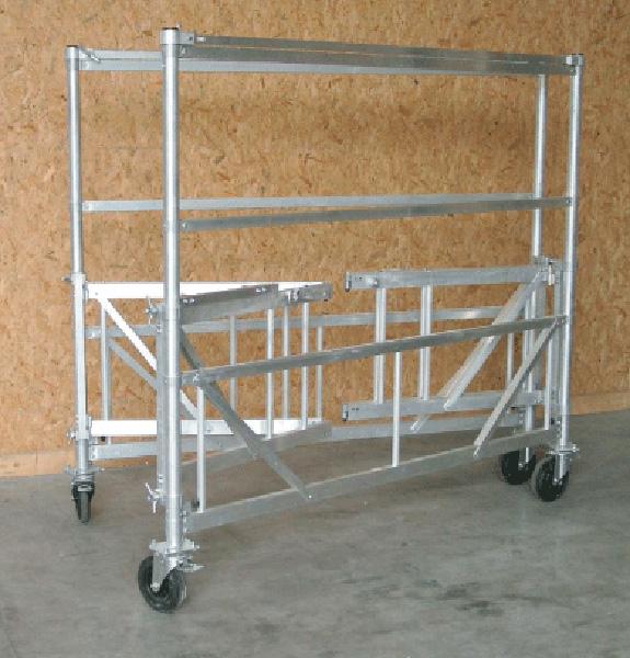 plateforme aluminium pp