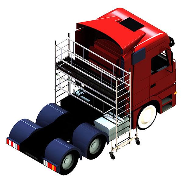plateforme camion cabina