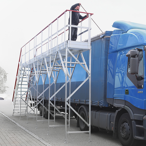 plateforme camion situation