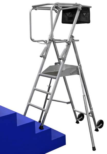 plateforme pour escalier