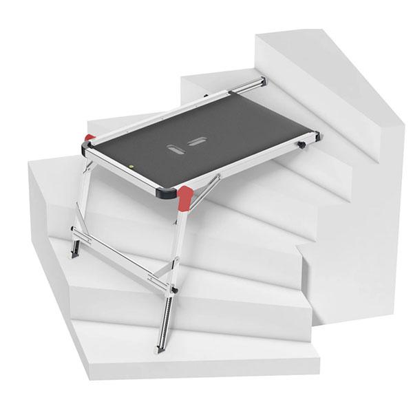 plateforme escalier hauteur demonstration