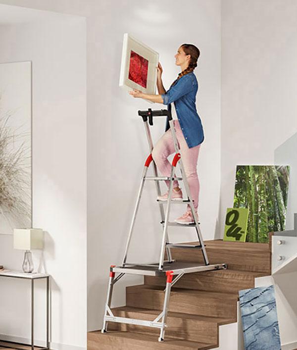 plateforme escalier hauteur situation