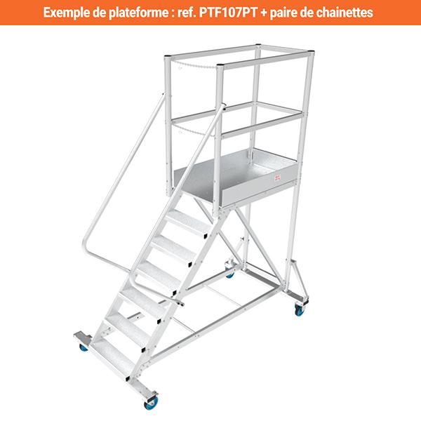 plateforme ptf107pt chainettes