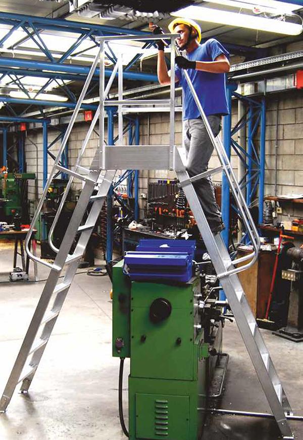 plateforme saut de loup fixe usine