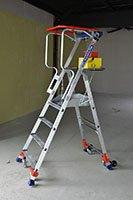 Plateforme Wheelys sur chantier
