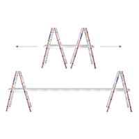 KIT échelles et plan de travail télescopique en alu