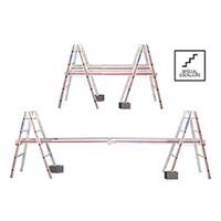 KIT échelles escaliers et plan de travail télescopique