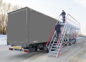 plateforme pour camion