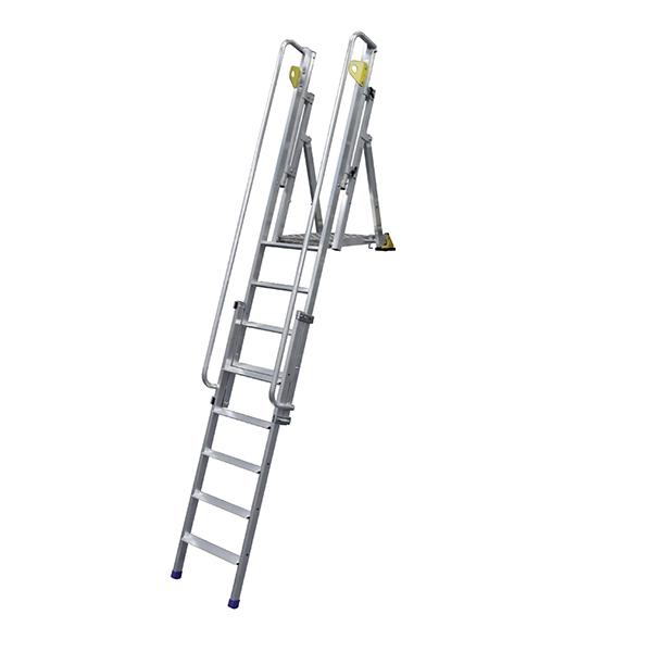 plattformleiter zugang grabentiefe
