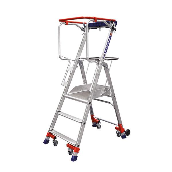 mobile stehleiter wheelys 501903