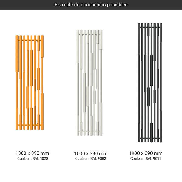 gamme radiateur cane couleur