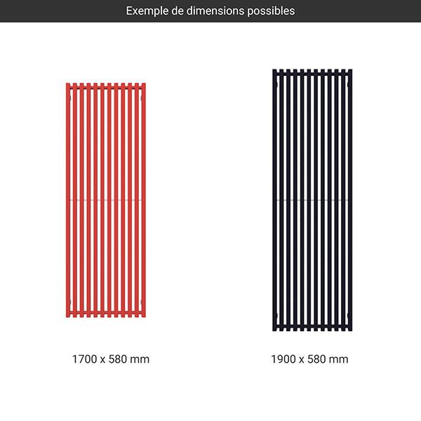 gamme radiateur trigag couleur