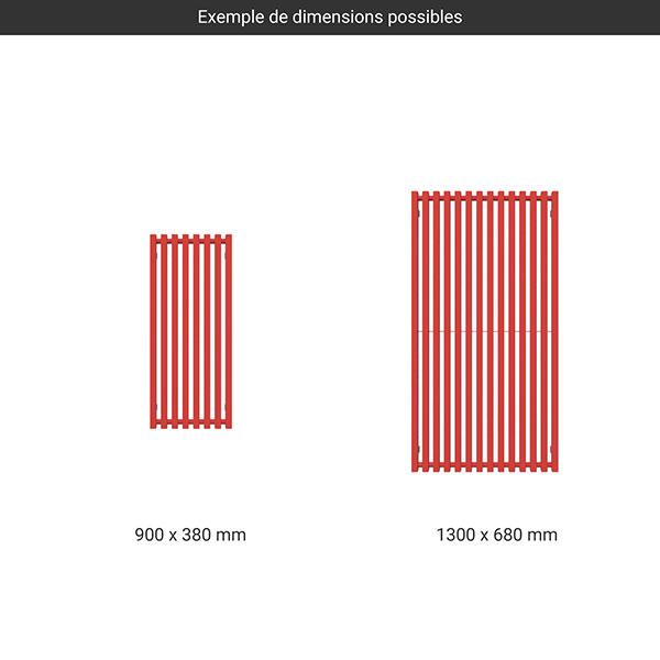gamme radiateur trigap couleur
