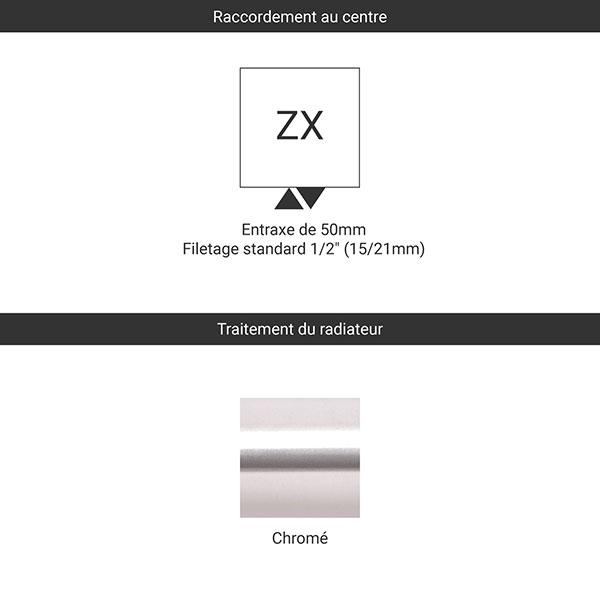raccordement zx chrome