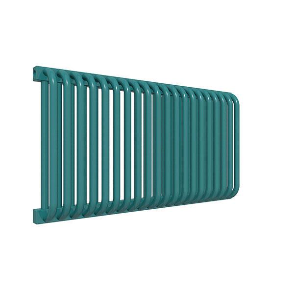 radiateur acier horizontal ral5021 delfinyl