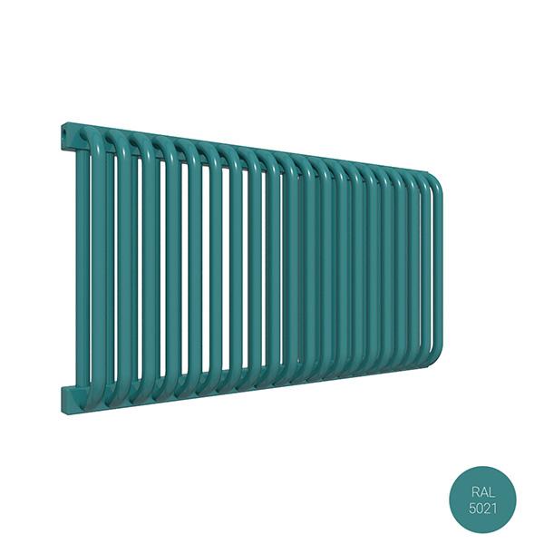 radiateur acier horizontal ral5021 delfinyp