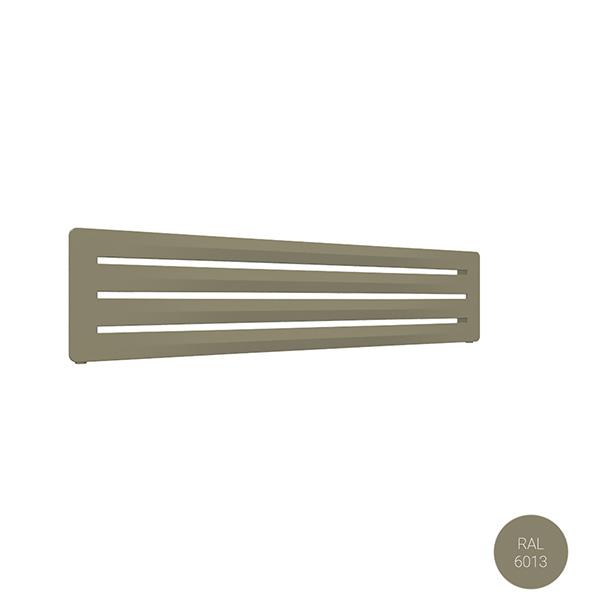 radiateur acier horizontal ral6013 aeroyl