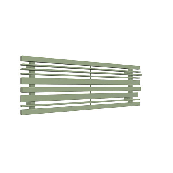 radiateur acier horizontal ral6021 sherwoodo1