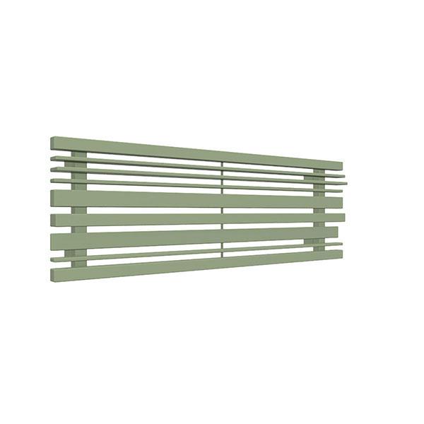 radiateur acier horizontal ral6021 sherwoodo8
