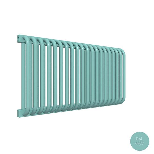 radiateur acier horizontal ral6027 delfinyl