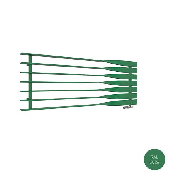 radiateur acier horizontal ral6029 cyklono8