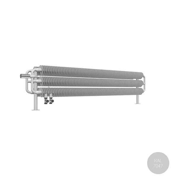 radiateur acier horizontal ral7047 ribbonhsdvl