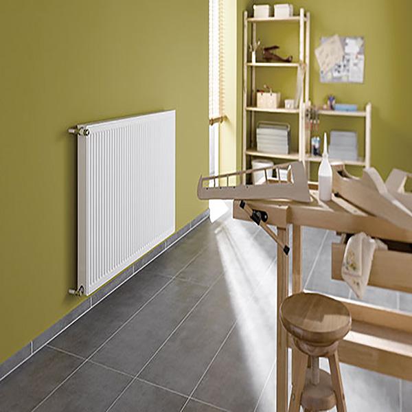 radiateur acier horizontal verteo profil