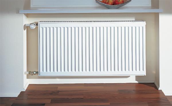 radiateur acier horizontal verteo profil1
