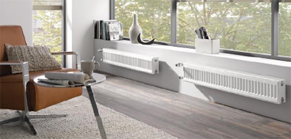 radiateur acier horizontal verteo profil2