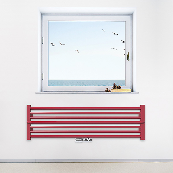 radiateur horizontal lima zx ral3027 situation