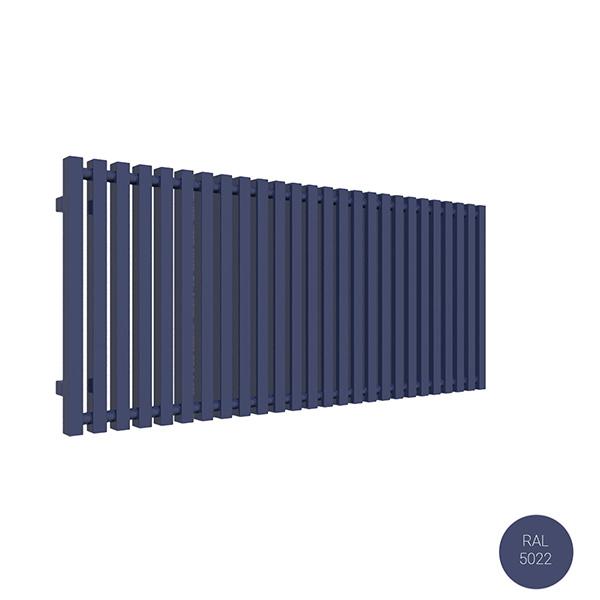 radiateur horizontal ral 5022 trigayl