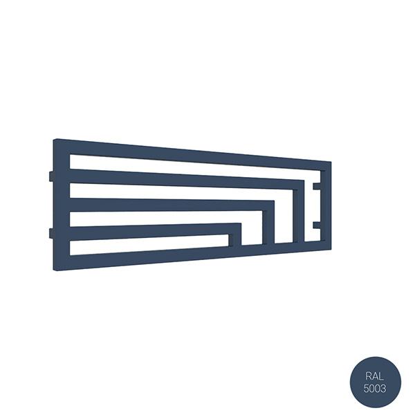 radiateur horizontal ral5003 angusyl