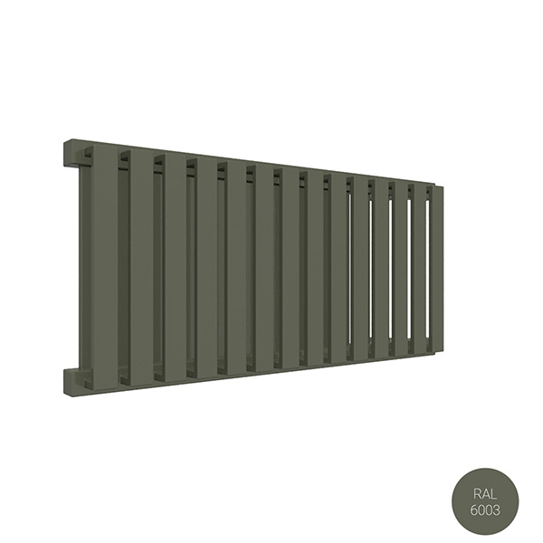 radiateur horizontal ral6003 nemoyp