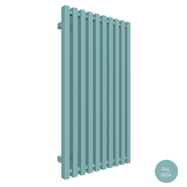 radiateur vertical 900 ral6034 trigazx