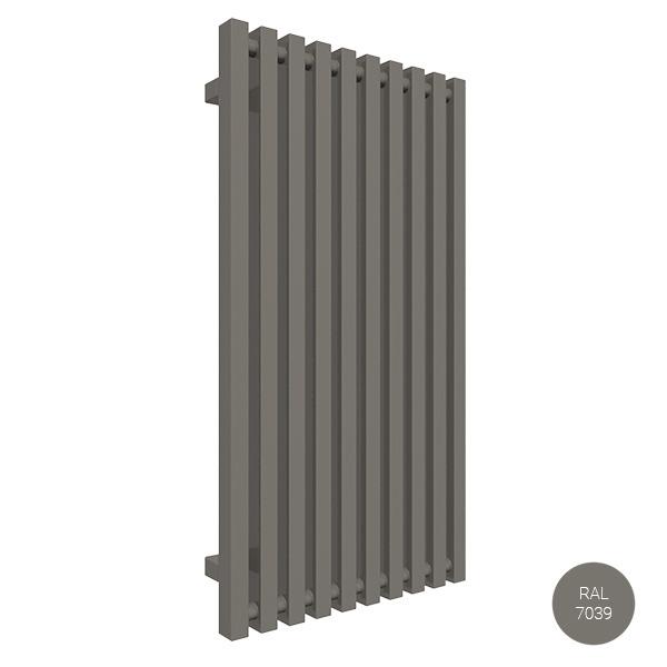 radiateur vertical 900 ral7039 trigazx