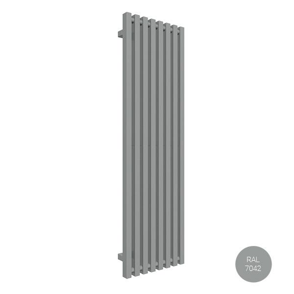 radiateur vertical ral7042 trigazx